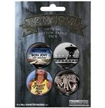 Bon Jovi-Badge Pack