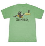 GUINNESS Toucan Pint Heather Green Graphic TShirt