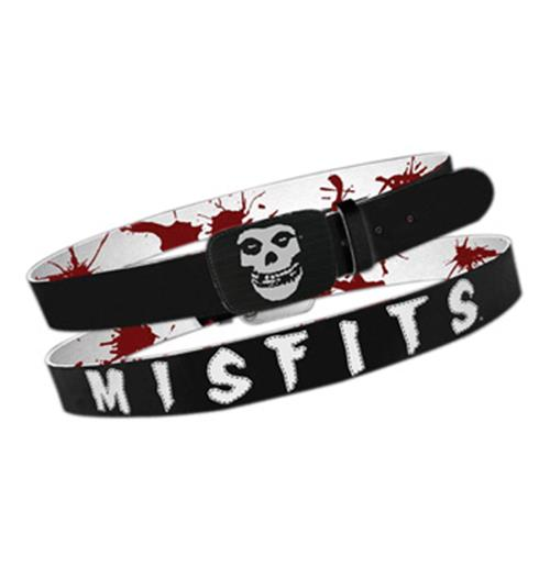 Misfits Full PRINT&BACK Leather Belt