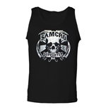 SONS OF ANARCHY SAMCRO Supporter Black Graphic Mens Tank Top Shirt