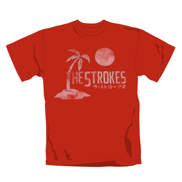 The Strokes T Shirt  Japan. Emi Music officially licensed t-shirt.
