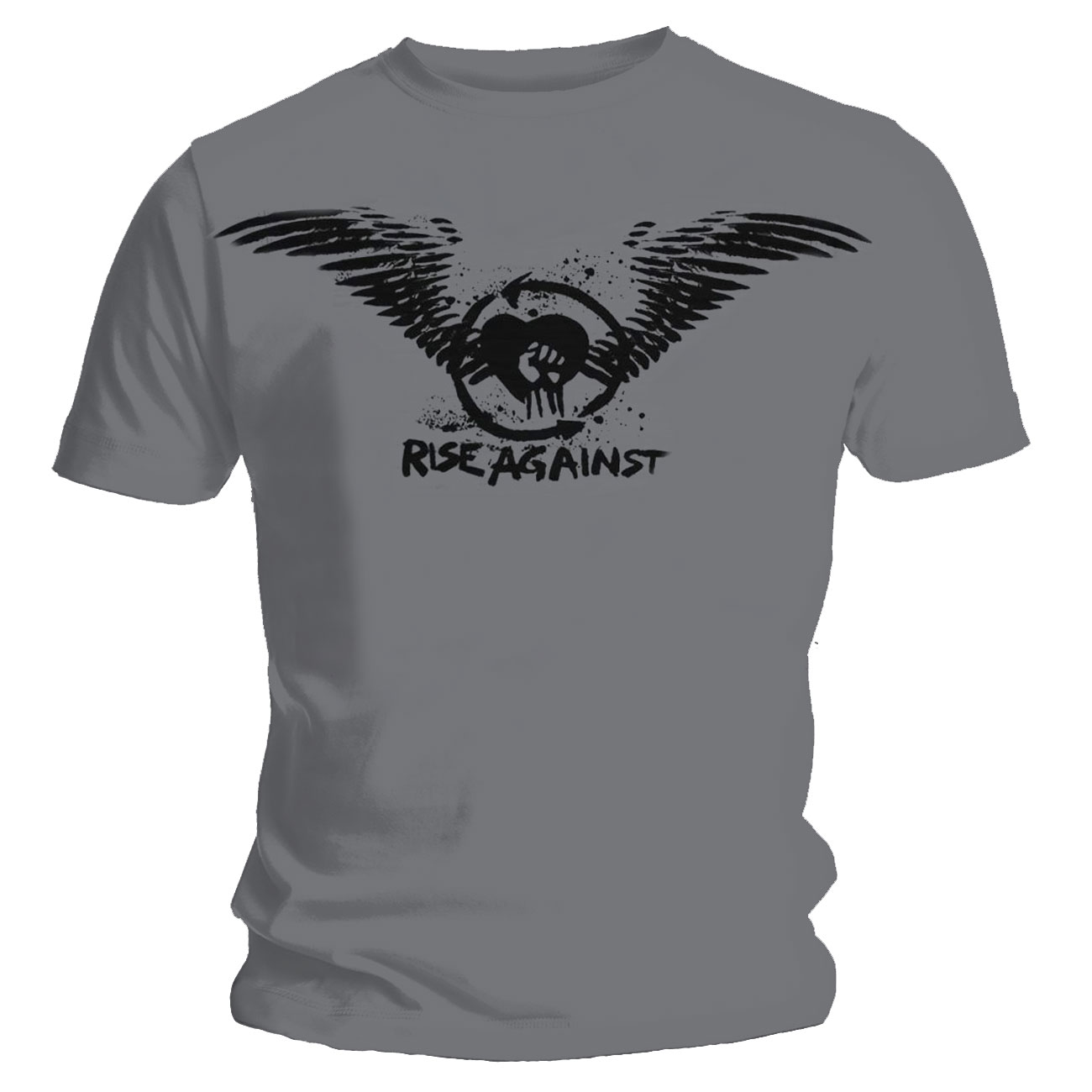 Rise Against T Shirt Paper Wings. Emi Music officially licensed t-shirt.