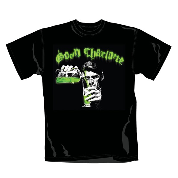 Good Charlotte t-shirt. Emi Music officially licensed t-shirt.