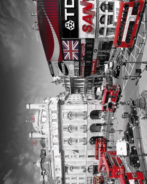 London Piccadilly Circus Mini Poster