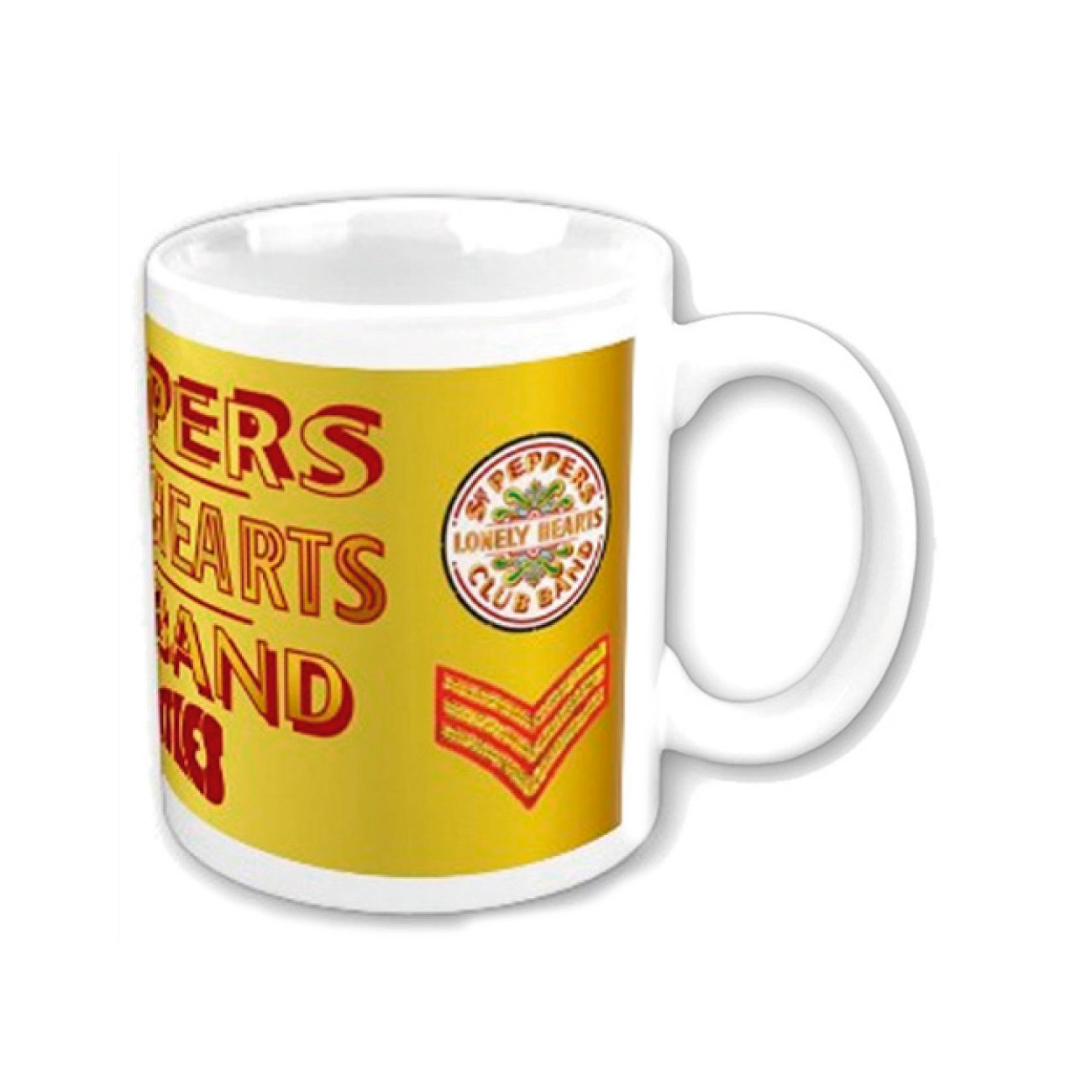 Beatles Mug Sgt Pepper. Emi Music officially licensed product.