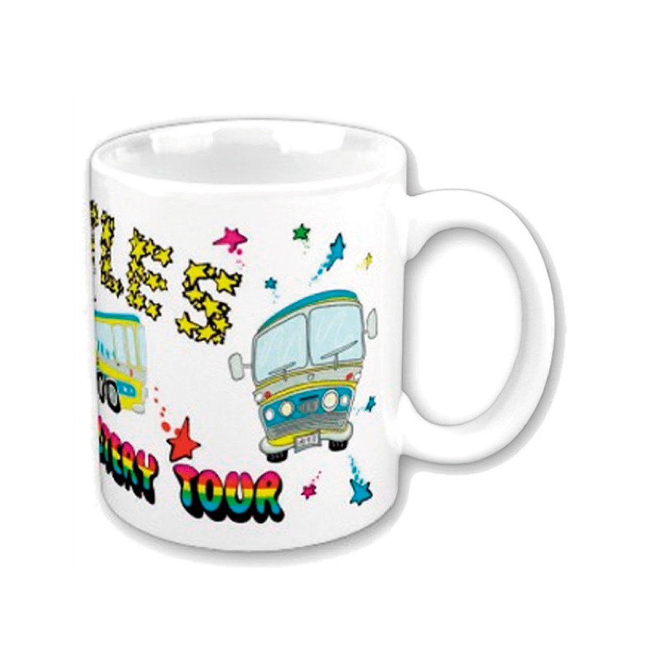 Beatles Mug Magical Mystery Tour. Emi Music officially licensed product.