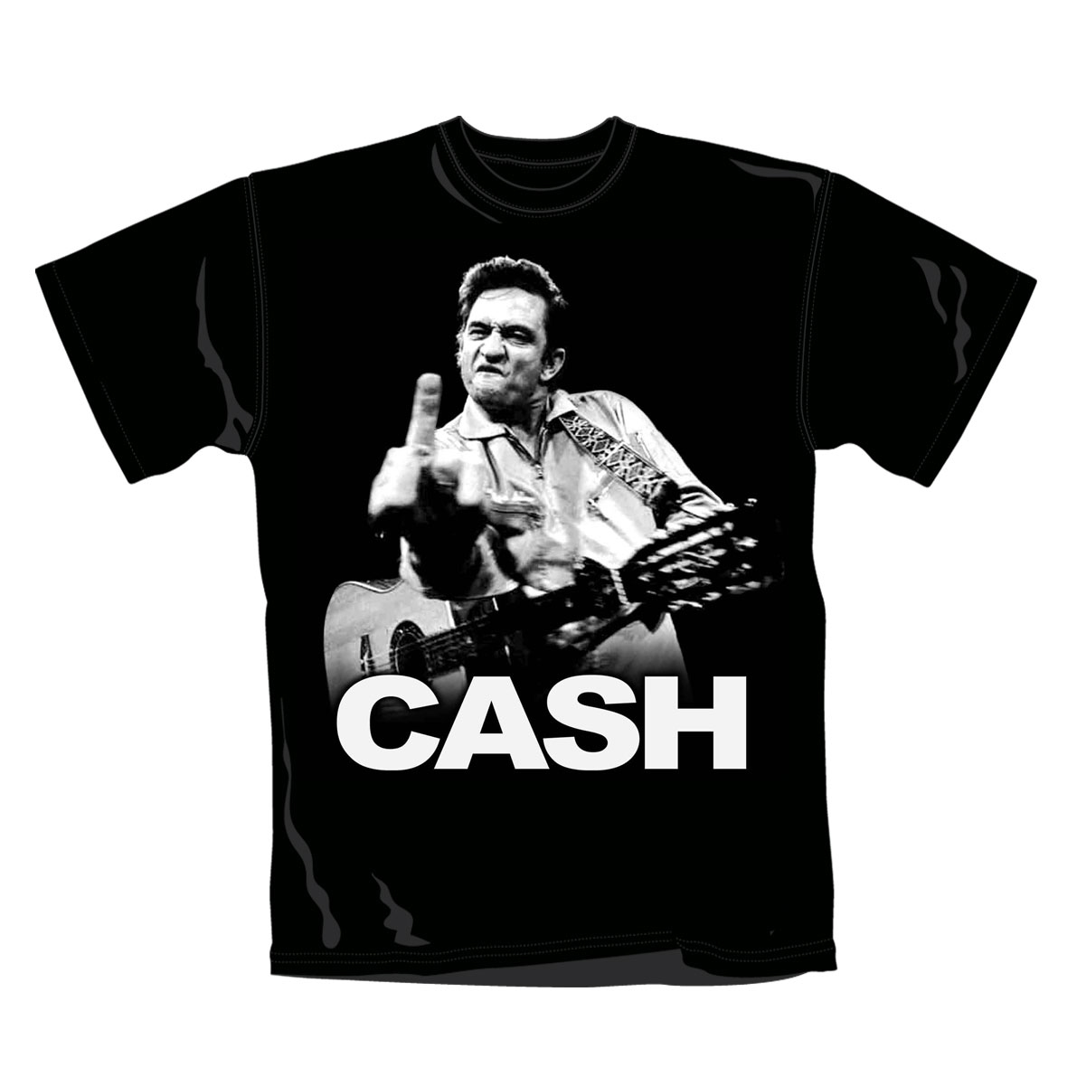 Johnny Cash T Shirt Flippin. Emi Music officially licensed t-shirt.