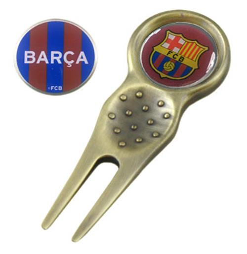 F.C. Barcelona Divot Tool and Marker