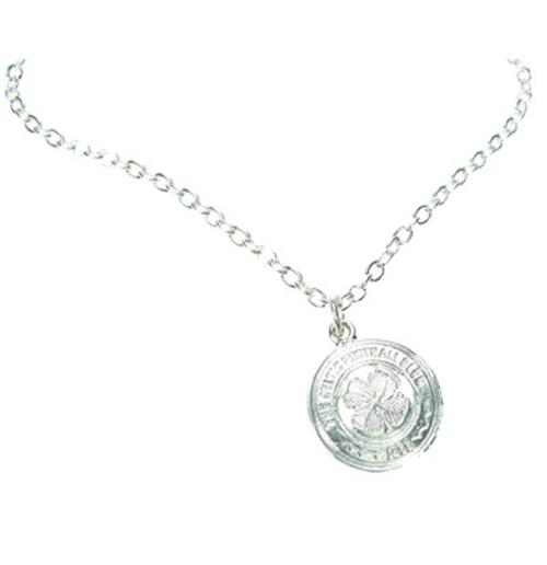 Celtic F.C. Silver Plated Pendant and Chain