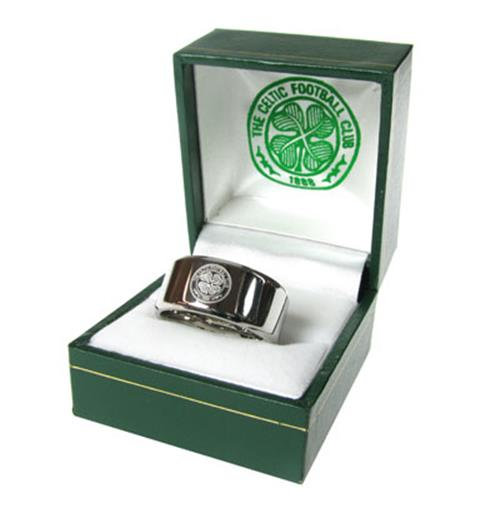Celtic F.C. Band Ring Small