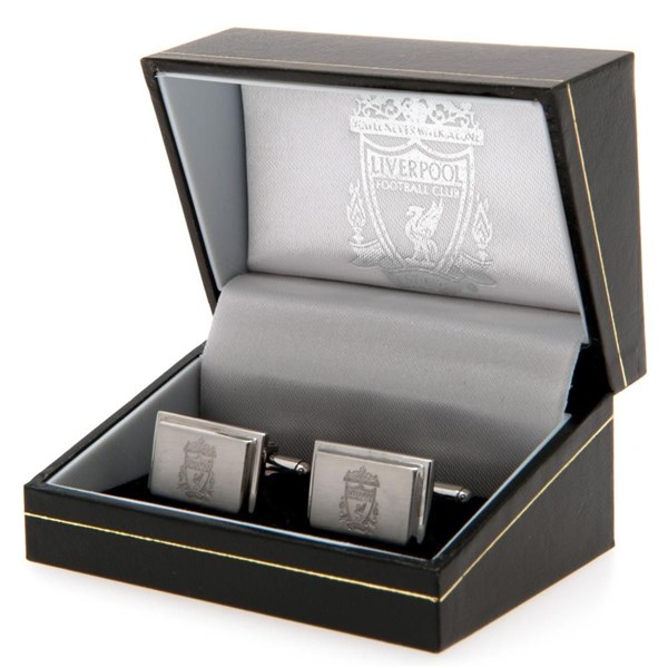 Liverpool F.C. Stainless Steel Cufflinks