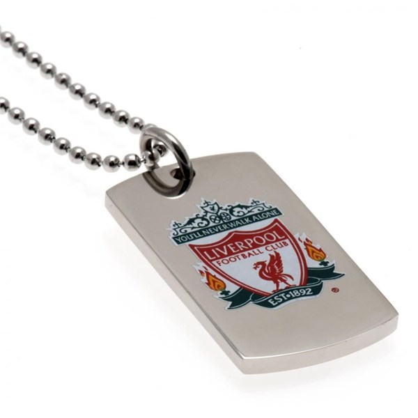 Liverpool F.C. Colour Crest Dog Tag