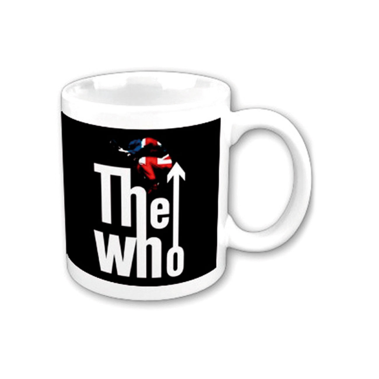 "Various Artists Mug The Who ""leap LOGO"". Emi Music officially licensed product."