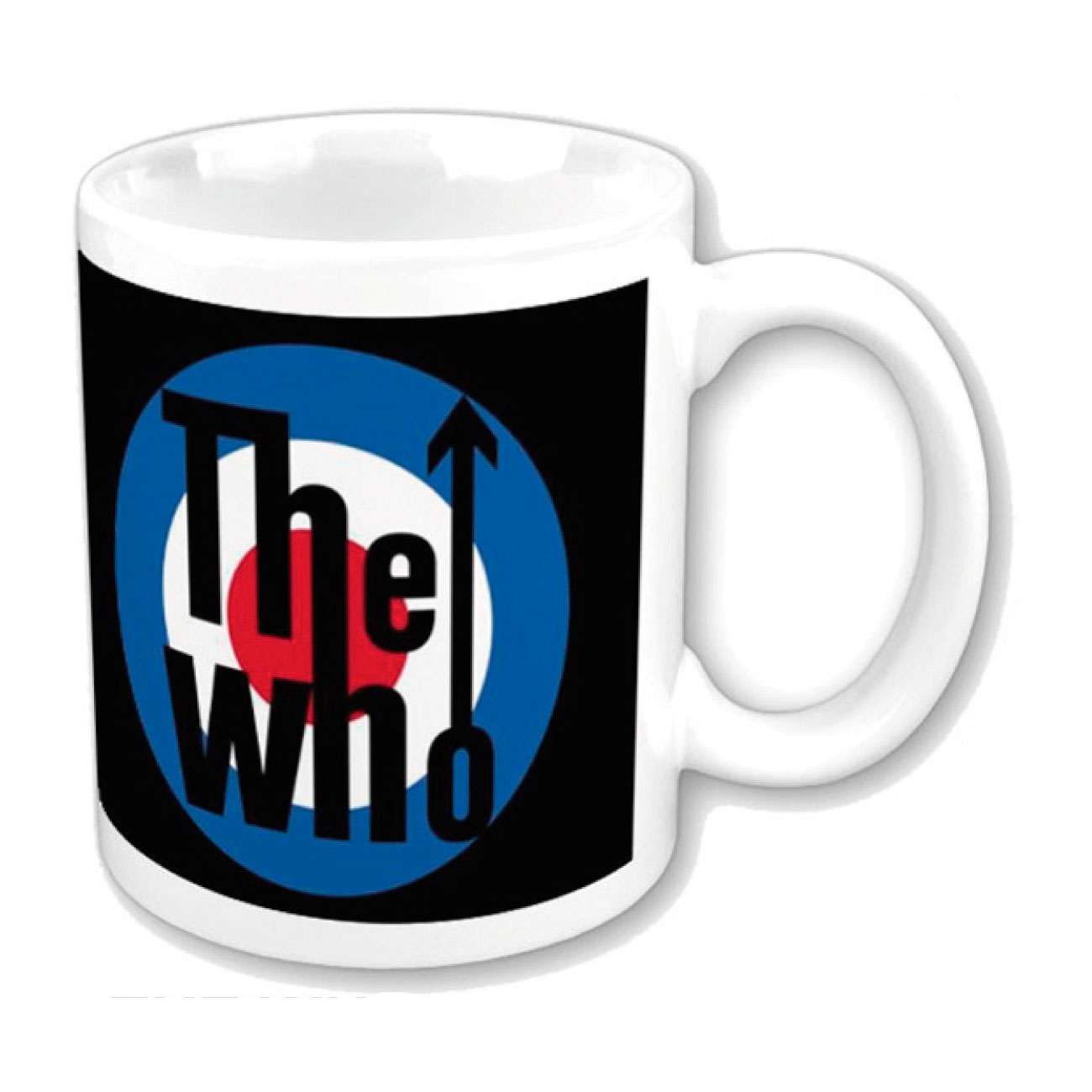 "Various Artists Mug The Who ""target LOGO"". Emi Music officially licensed product."