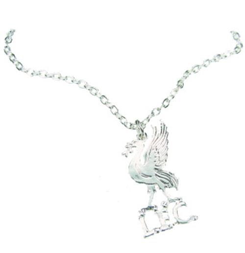Liverpool F.C. Silver Plated Pendant and Chain LB