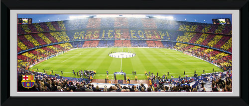 Barcelona Nou Camp Framed Photographic Print