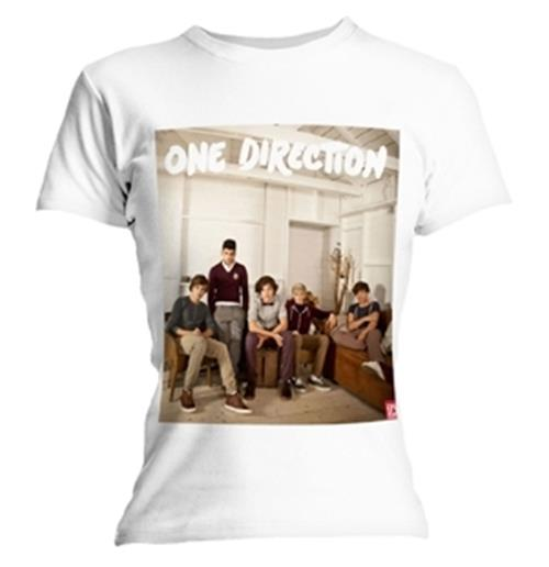 One Direction BAND LOUNGE T-shirt. Emi Music officially licensed t-shirt