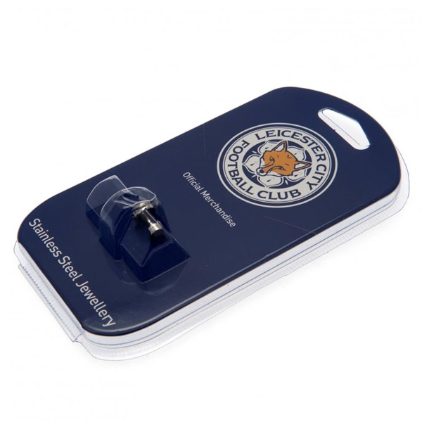 Leicester City F.C. Stainless Steel Stud Earring