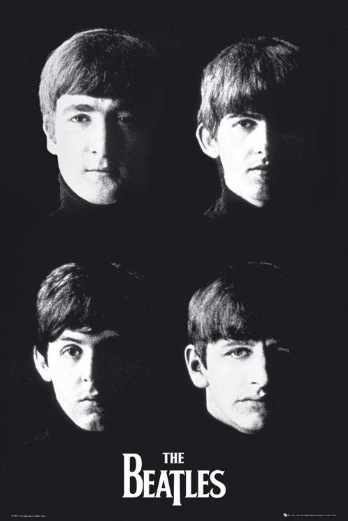 The Beatles With The Maxi Poster