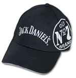 Jack Daniel's Old No. 7 Side Logo Adjustable Black Cap