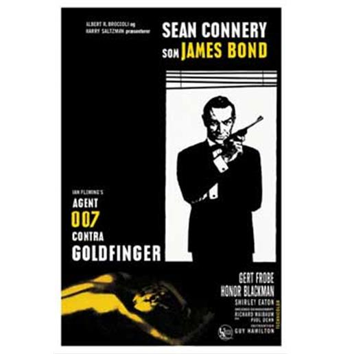 007   James Bond   Goldfinger   Poster