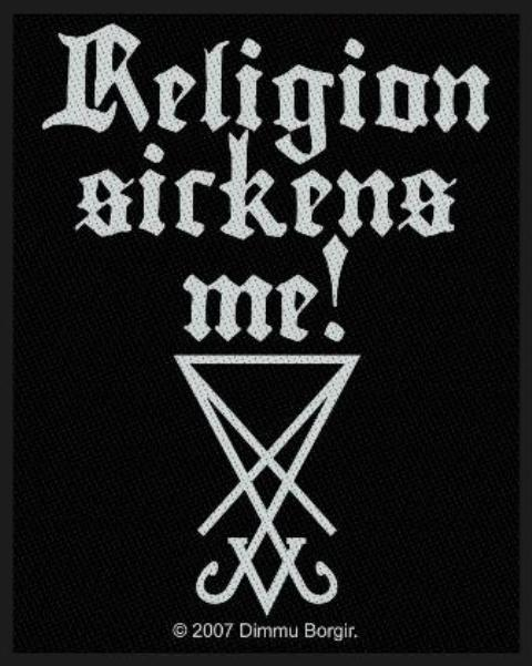 Dimmu Borgir Religion Sickens ME!Patch