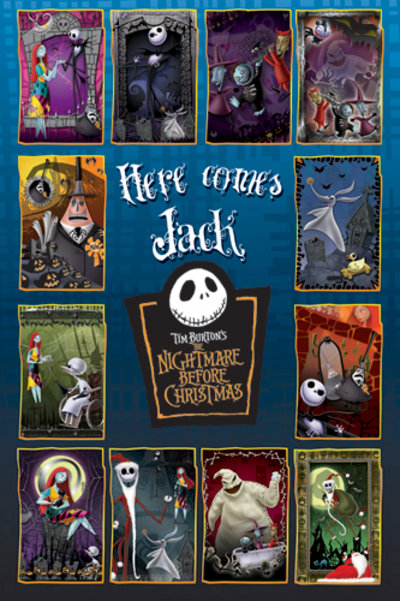 Nightmare Before Christmas   Collage   Poster