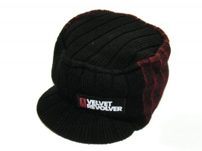 Velvet Revolver Black Billed Beanie Hat