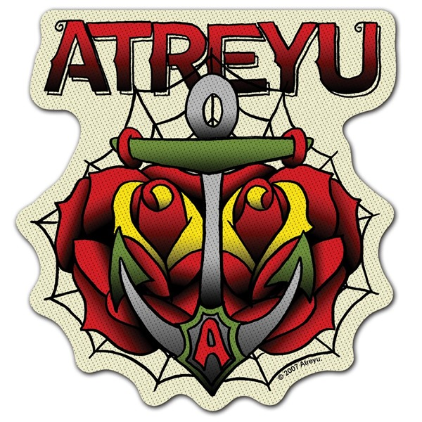 Atreyu Drop Anchor Cutout Patch