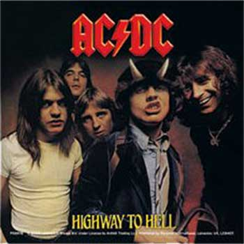 AC/DC Highway To Hell Sticker
