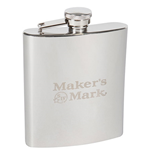 MAKER'S MARK Logo Flask