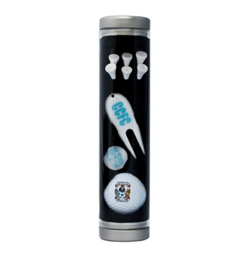 Coventry City F.C. Golf Gift Tube