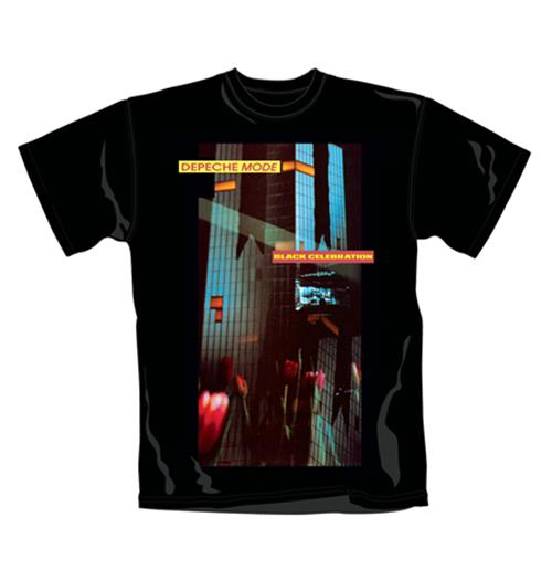 Depeche Mode T Shirt Celebration. Emi Music officially licensed t-shirt.
