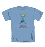 Elbow T Shirt Build A Rocket. Emi Music officially licensed t-shirt.