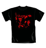 The Clash T Shirt Band Gun. Emi Music officially licensed t-shirt.