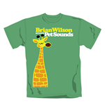 Wilson Brian T Shirt Giraffe. Emi Music officially licensed t-shirt.