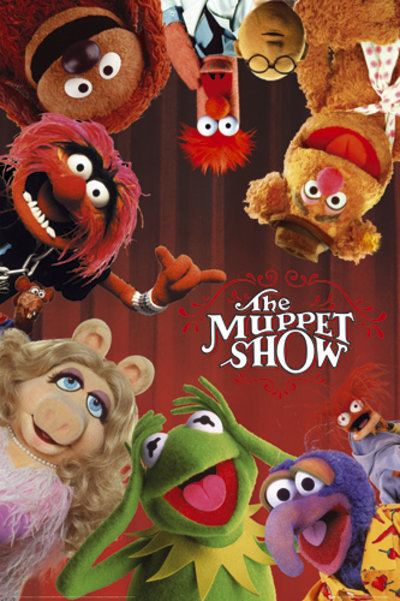 The Muppets   Cast S.O.S   Poster