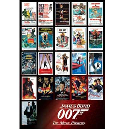 James Bond Movies Poster