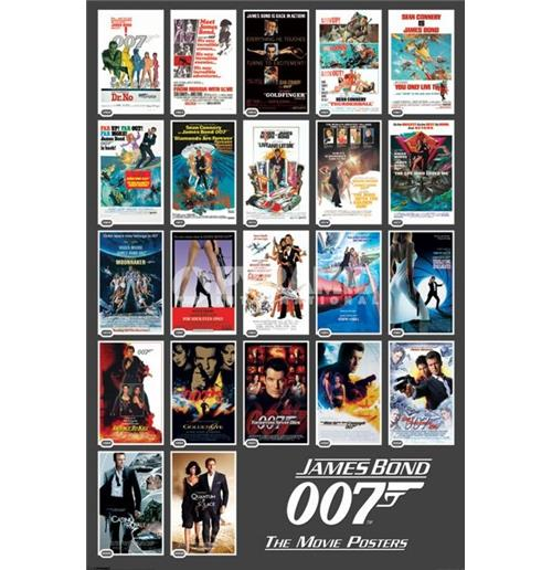 James Bond 22 Movies Poster