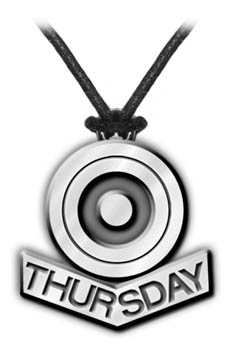 Thursday Logo Pendant