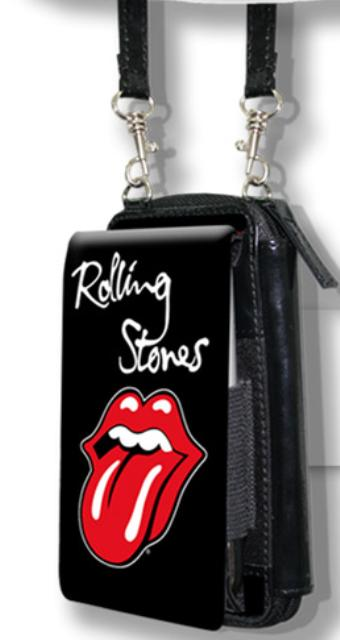 Rolling Stones Tongue Iphone Wallet