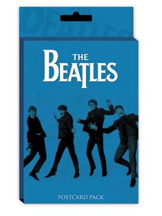 The Beatles Blue Pack 10 Postcards