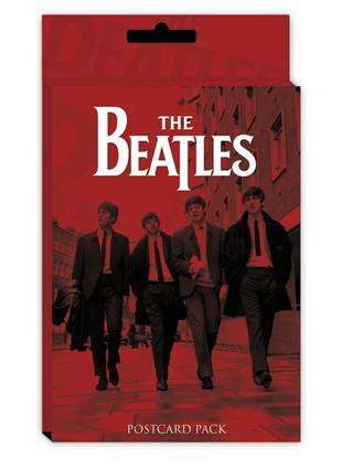 The Beatles Red Pack 10 Postcards