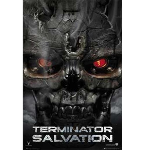 Terminator Salvation   Skull   Poster