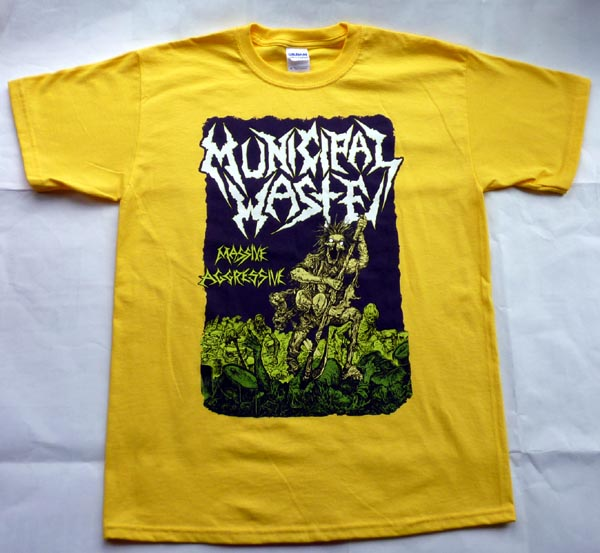 Municipal Waste   Massive Agressive   Tshirt
