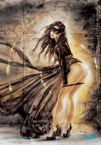 Luis Royo The Rough With The Smooth Flag