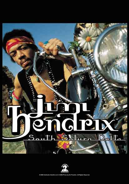 Jimi Hendrix South Saturn Delta Flag