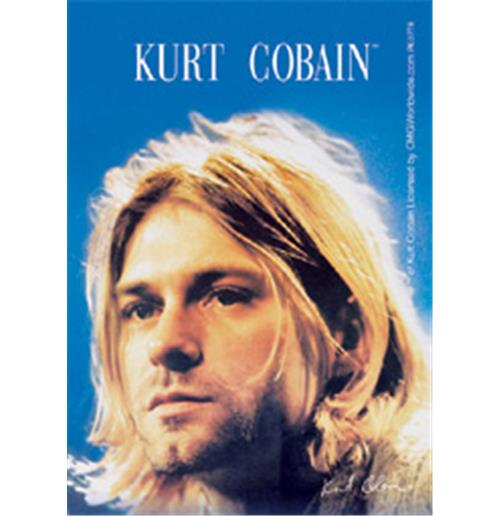 Kurt Cobain Close Up Acrilic Keychains