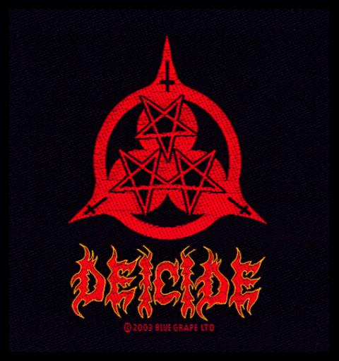 Deicide Three Stars Logo Patch