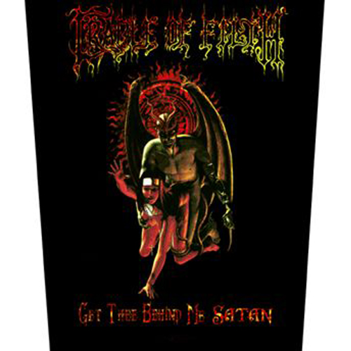Cradle Of Filth Get Thee Behind Me Satan Backpatch